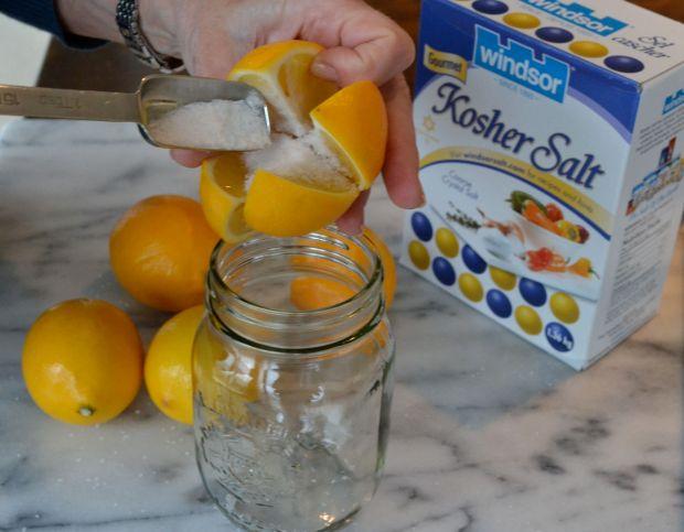Meyer Lemon preserved