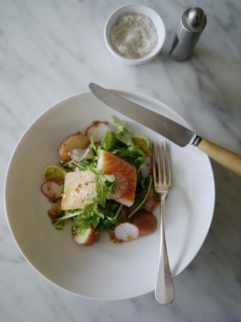 Smoked Sablefish Salad