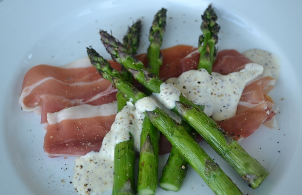 June Menu Asparagus