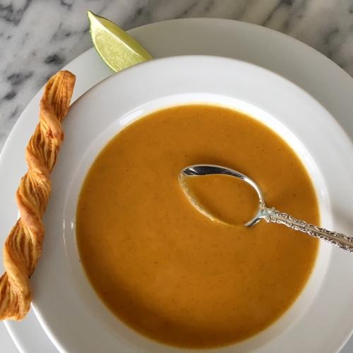 carrot-yam-soup